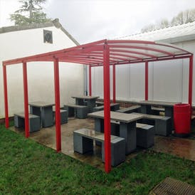 Winterbourne Heavy Duty Smoking Shelter
