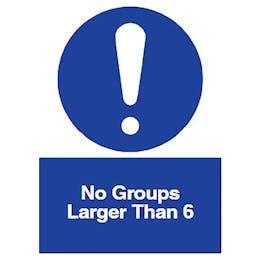 No Groups Larger Than 6