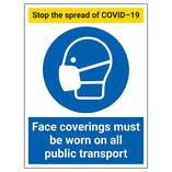 COVID-Secure Transport Signs and Labels