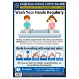 Handwashing In Schools Poster