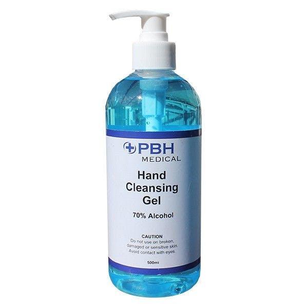 PBH Medical 70% Alcohol Hand Cleansing Gel