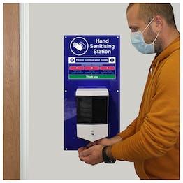 Hand Sanitising Automatic Dispenser Station