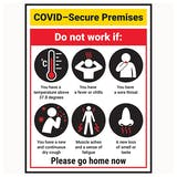 COVID-Secure Premises - Do Not Work