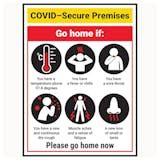 COVID-Secure Premises - Go Home