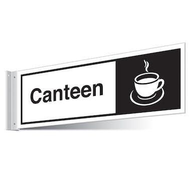Canteen Corridor Sign - Landscape