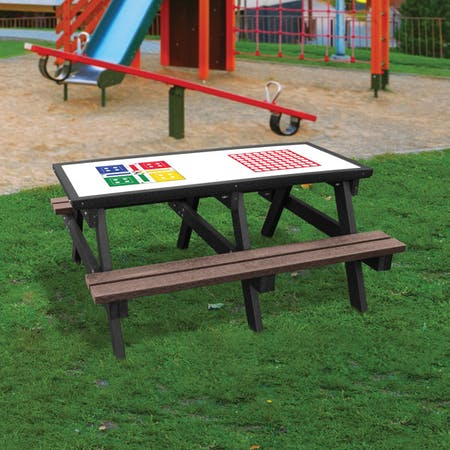 Junior Activity Tables with Benches