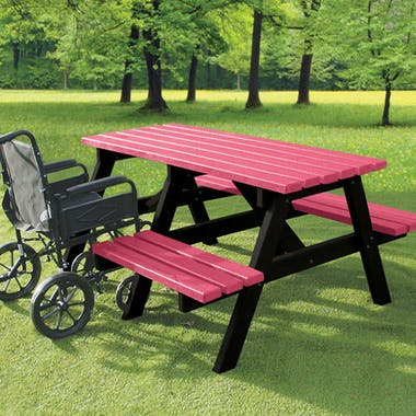 Wheelchair Access Picnic Tables - Standard