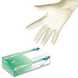 Unigloves White Nitrile Gloves