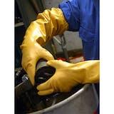 Showa 772 ARX Nitrile Long Sleeve Gloves