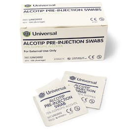 Alcotip 70% Alcohol Swabs