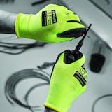 Polyco Matrix Green PU Gloves - Cut Level 5