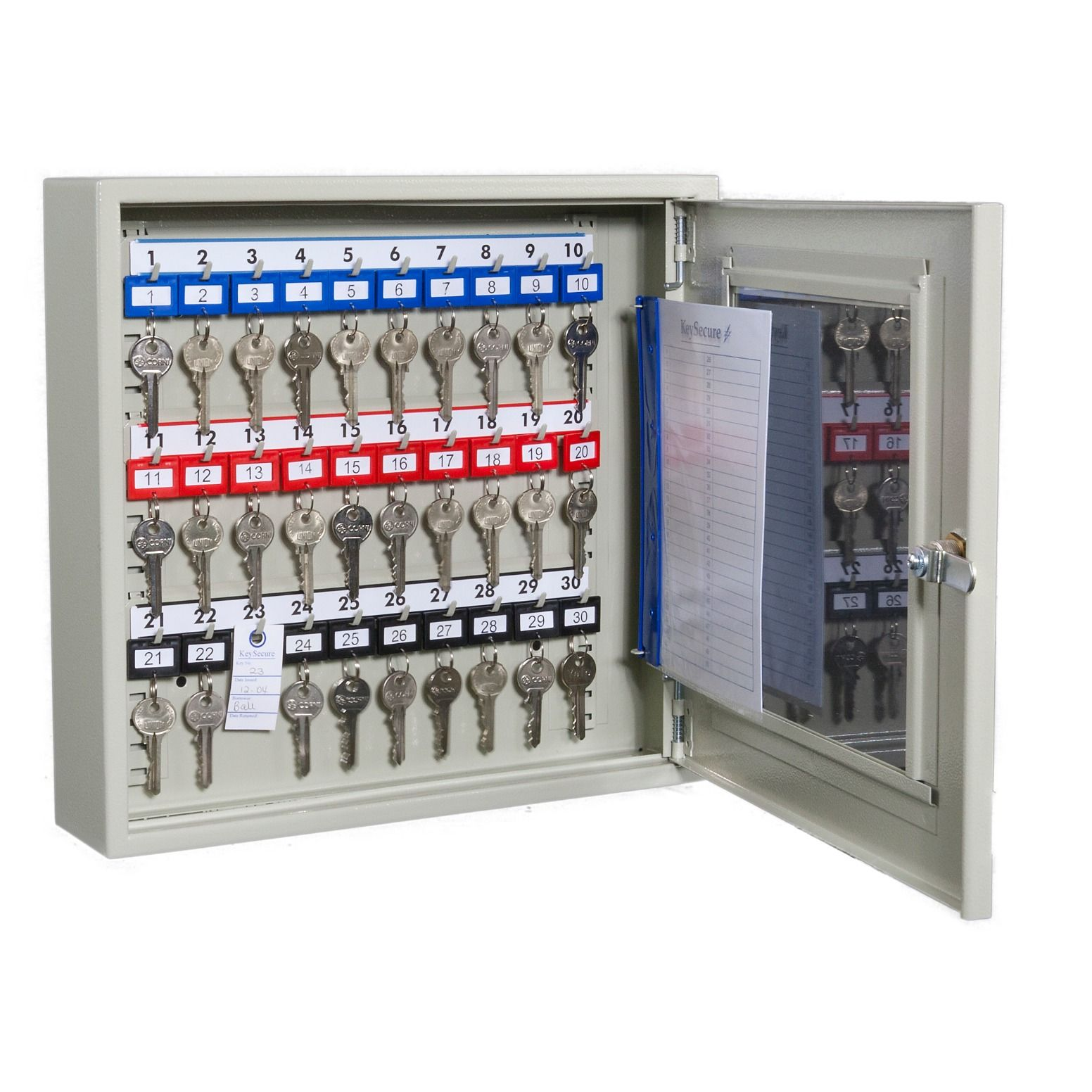 637393098127569646_clear_fronted_perspex_key_cabinets_with_electronic_cam_lock_30_hook_35_x_38_x_10.5cm_open.jpg