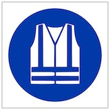 Symbol Only PPE Signs