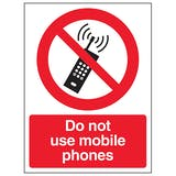 Mobile Phone Prohibition Signs