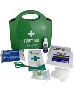 Compact Burns First Aid Kit
