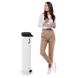 Penguin Foot-Operated Sanitiser Dispenser