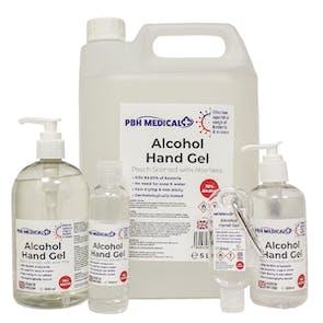 PBH Medical 70% Alcohol Hand Gel