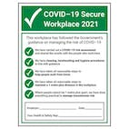 COVID-19 Secure Workplace 2021 - 1M