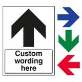Custom Directional Signs