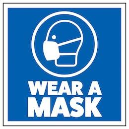 Wear A Mask - Sticker