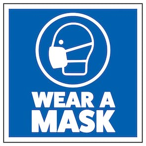 Wear A Mask - Sticker