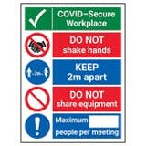 COVID-Secure Premises Signs