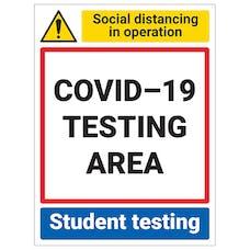 COVID-19 Testing - Student Testing