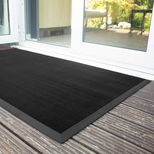 Fingertip Rubber Outdoor Mat