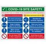 COVID-Secure Site Safety Signs