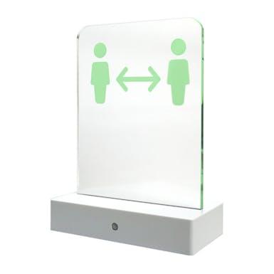Social Distancing LED Sign