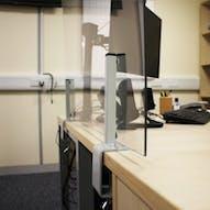 Install Dividers & Desk Screens