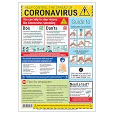 Coronavirus Guidance Poster - 2 Metres