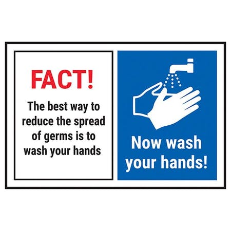 FACT! The Best Way To Reduce...Now Wash Your Hands!