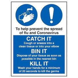 Prevent The Spread Of Flu And Coronavirus