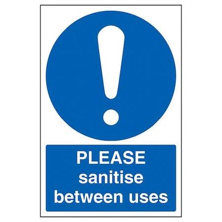 Please Sanitise Between Uses