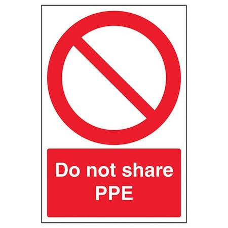 Do Not Share PPE