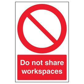 Do Not Share Workspaces