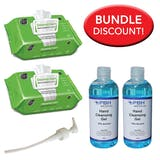 Sani Professional Multi-Surface Wipes and Sanitiser Bundle