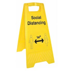 Social Distancing - 1M - Floor Stand