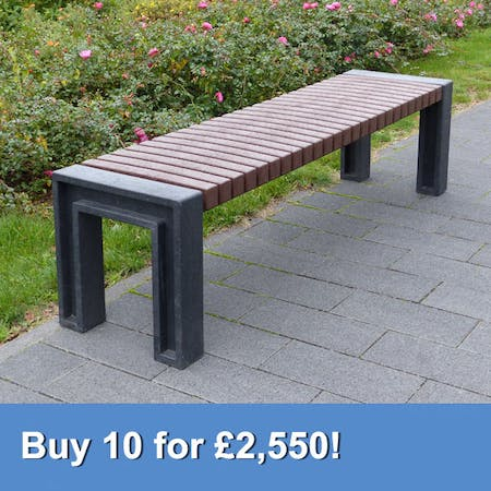 Perth Deluxe Backless Bench
