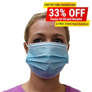 Disposable 3ply Masks