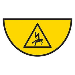 Danger Of Death - Temporary Floor Sticker