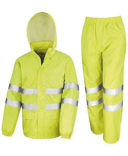 Result Hi-Vis Waterproof Suit