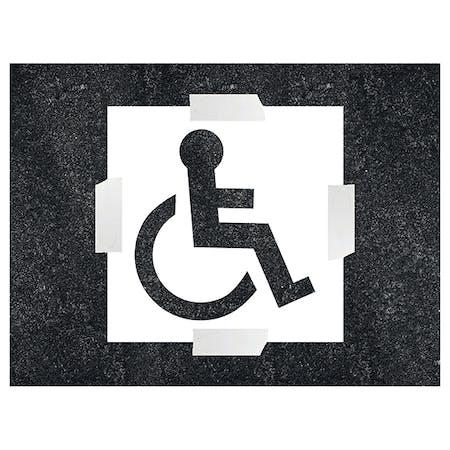 Disabled Icon Stencil