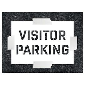 Visitor Parking Stencil