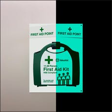 Glow In The Dark HSE First Aid Points