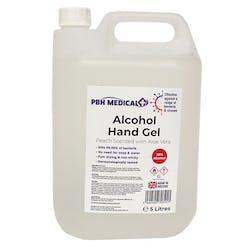 PBH Medical 70% 5 Litre Alcohol Hand Gel