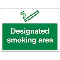 Designated Smoking Area - Large Landscape