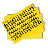 Yellow A-Z Letter Packs - 23mm Character Height