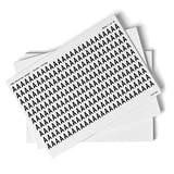 White A-Z Letter Packs - 13mm Character Height